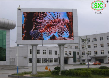 China Best Selling High Resolution P10 DIP  Outdoor Full Color LED Advertising Display Screen  160*160mm Module Size supplier