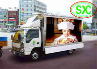 China Mobile Trailer LED Video Billboard Vehicle SMD3528 IP67 Pixels 8mm factory