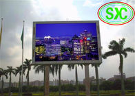 China P10 Rgb Outside Wifi Advertising LED Screens For Banks / Car Dealerships factory