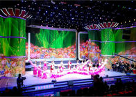 China Stage background indoor LED Advertising LED Screens SMD P6 For Airport / bus station factory