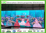 Front Open Led Video Screen Rental P6mm / Super Bright Led Display Board Wide View Angle