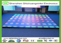 China LED Interactive Dance Floor Rental / LED DJ Stage Dance Floor 500*500 With 15W Max Power company