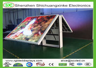 Waterproof Double Side Advertising LED Screens P6 Indoor With 14 Bits Grey Scale