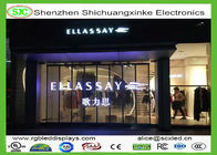 China P6.25 Flexible RGB Transparent LED Screen High Resolution with 6 scaning driver company