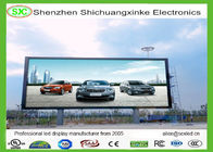 Outdoor P10 Multi Color RGB LED Display Waterproof IP65 , Advertising LED Screen