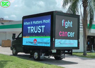 Video Wall Mobile Truck Led Display , Van Truck Mounted Led Screen Billboard 5 Years Warranty