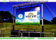 high brightness p5 outdoor advertising 3g remote control  hanging led  display