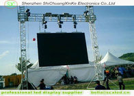High Resolution p6 LED  advertising  display board With Steel Cabinets,outdoor advertising led display screen