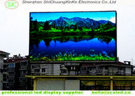 China Advertising Full Color Outdoor  LED Display  P10 , 1R1G1B SMD 3 in 1 factory