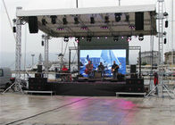 Large Hanging Led Panel Rgb / Outdoor Led Screen Great Waterproof stage screen easy to install