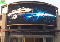 China HD Flexible  Curtain LED Display P5mm , Waterproof IP65 Super Thin LED Screen factory
