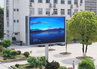 China 10mm Pixels Outdoor Advertising Led Display Screen With Wifi / 3G Wireless Control factory