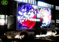 China Video Outdoor Mobile Truck Led Display , Trailer / Vehicle Mobile truck mounted led screen factory