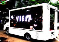 China Mobile LED Screen Truck Full Color Vehicle Mounted Led Truck Advertising Pitch 6mm company