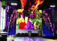 P2 Back Stage full color LED Screens / Stage Background Led Screen For Events Nightclub Hire