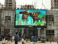 China Kinglight LED display Pitch3.9mm RGB full color outdoor videowall for movie and cartoon factory