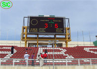 China P10mm Outdoor Waterproof Stadium LED Display with Scoring System company