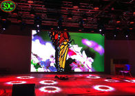 IP45 Stage LED Screens , SMD2121 P4 led flat video wall MBI5124 driver