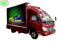China High Definition Mobile Truck LED Display Video , Advertising Truck Led Screen Billboard company