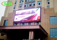 China Outdoor P6 Advertising LED Screen Wall-mointed For Business Building factory