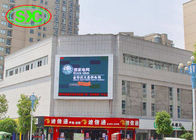 China Outdoor P10 Advertising LED Screens Wall Mouted Full Color LED TV Wall factory
