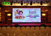 Indoor p5 video wall ironed steel cabinet led display screen in hotel conference hall