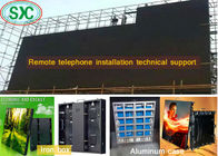China SMD Outdoor P5.95 LED Screen Billboard 1/7 Scan High Resolution Aluminum Cabinet factory