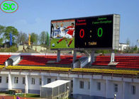 China Soccer Scoreboard Stadium LED Displays P6 Outdoor with Nationstar LED company