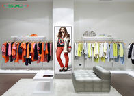 Clothing Stores Advertising Led Screens Floor Stand Indoor Tv Led Screen