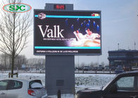 China Outdoor Full Color Fixed Column LED Display Screen P6 with 960x768mm LED Cabinet factory