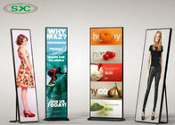 China Full Color Led Video Wall Panels , HD P3 Indoor Advertising Led Display Poster Screen factory