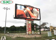 China High Resolution Outdoor Full Color LED Display SMD P10 1/2 Scan Fixed Beautifully Wrapped factory