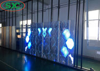 China Indoor G7.8125-15.625 Transparent screen for window show transparent display factory