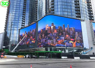 IP65 Full Color Outdoor Rental Led Display Building Wall Curved Screen P10 Waterproof