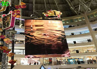 Super Thin Advertising Indoor Full Color LED Display P3.91 Wide Viewing Angle For Malls