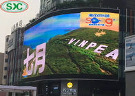 Curved Large Size Advertising LED Screens Display Billboard P6 192x192mm Module Size