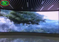 Curved Indoor Led Display Board , Led Video Display Panel Solution P3.91/P4.81