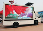 China High definition HD smd  waterproof mobile truck Led Display lR1G1B PH10mm factory