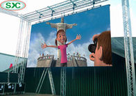 China 6500cd Brightness Outdoor Rental Led Display 3.91mm Pitch Flexible Curtain Display factory