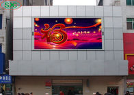 Hd Tv Big Full Color Outdoor Led Advertising Display P6 6000cd/m2 Brightness