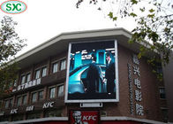 China Large Smd Outdoor Full Color LED Display Advertising Screen P6 6000cd/m2 Brightness factory