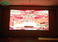High Brightness Led Video Display Panel Ironed Steel Cabinet Tv Wall Screen