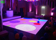 China Indoor Full Color p6.25 led disco dance floor High Definition With Constant Current 1/5 Scanning factory