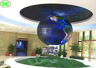 360 degree flexible Sphere advertising digital led display screens ball