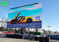 China P6 Outdoor Advertising LED Digital Billboard Mobile Screen 60Hz Frame Rate factory