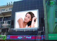 Flexible HD Outdoor Full Color LED Display P10 1R1G1B 8000cd/㎡ Brightness