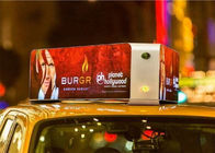 IP65 P4 Taxi Top Full Color Car Led Sign Outdoor Advertising Screens 1/16 Scan