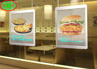 DC 5V Fixed LED Poster Display , LED Video Display Panel Aluminum 256*128mm Module