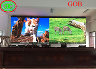Fixed Led Display video wall led tv backdrop GOB COB technology with CE ROHS FCC CB Certificates