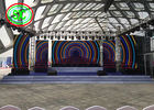 HD P6 outdoor rental led display cabinet size576*576 mm for stage exhibiation